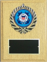 6X8 USCG PLAQUE SAMPLE