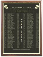 7TH ENGINEER BATTALION MEMORIAL PLAQUE