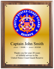 United States Coast Guard Group C Plaque Style
