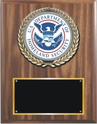 Group 'A' style plaque from Trophy Expess