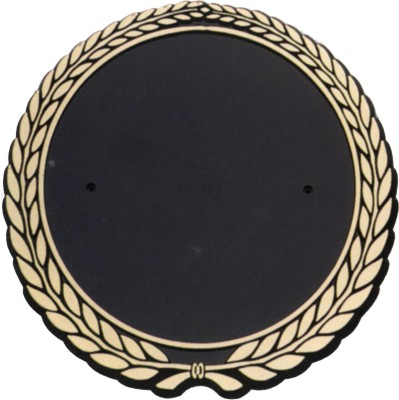 5 1/4 Gold Wreath Holder for 4 in Printed or Litho Disk