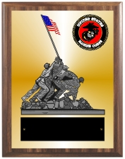 United States Marine Corps Plaque Group B Style from Trophy Express